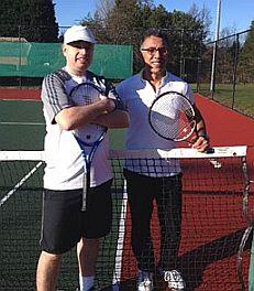 Wellington Men's tennis team Jan 2014