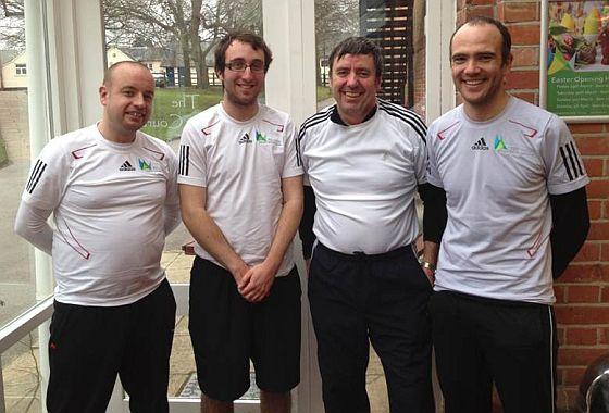 Mens tennis team - Wellington Health & fitness club