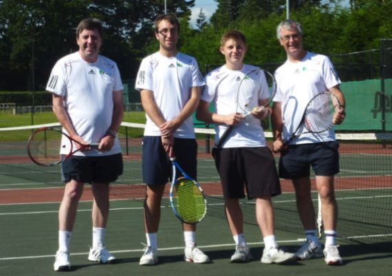 Team against Purley 22nd July 2012