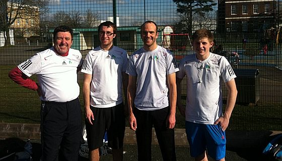 Mens tennis team, Wellington Health & fitness club